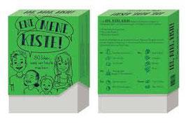 80 Karten mit Spiel- und Bastelideen ENE MENE KISTE grün