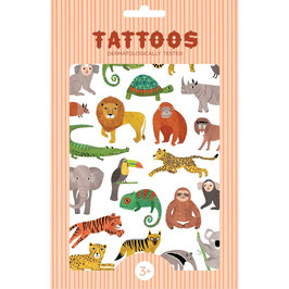 Tattoos DSCHUNGELTIERE (Petit Monkey)