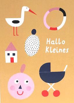 "Postkarte ""Hallo Kleines"" (Rasmussons)"