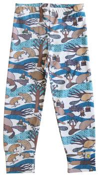 Jersey Leggings LILI beaver (Kids)