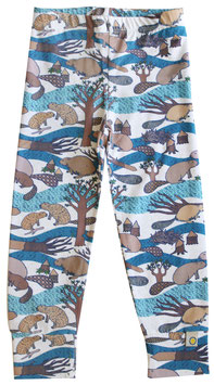Bio Leggings LILI beaver (Kids)