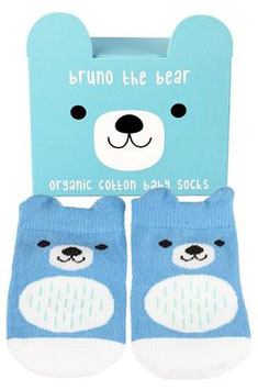 Babysöckchen Bruno the Bear BLUE (Newborn)