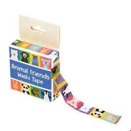 Washi Tape Tierische Freunde