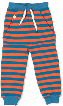 Jogginhose KIRSTOFFER Spicy Orange Stripes  (Alba Baby)