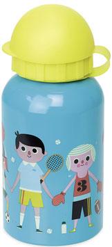 Trinkflasche Vintage Kids (Vilac) SPORT blau/gelb