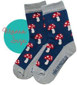 Bio Socken Glückspilz (MAMA)