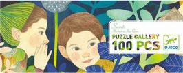 Riesen Puzzle SECRETS (Djeco) 100 Teile