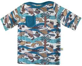 Bio 3/4 Sleeve Shirt SAMU beaver