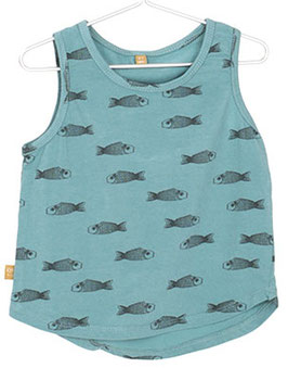 Bio Baby Tanktop FISHES (Lötiekids)