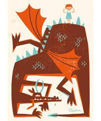 "Postkarte ""Drachenzähmung"" (Kehvola)"