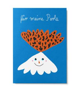 """Postkarte """"Für meine Perle"""" (Unter Pinien)"""