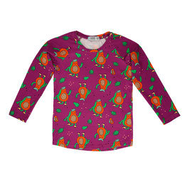Bio Langarmshirt Papaya Power (Raspberry Republic)