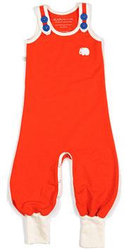 retro Strampler HAPPY CRAWLERS orange (Alba Baby)