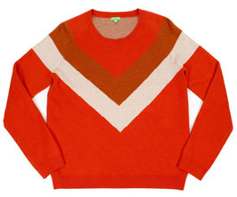 Kinder Wollpullover LIVIA TANGERINE RED (LILYBALOU)
