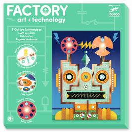 Factory Stromkreis-Bilder zum Beleuchten CYBORGS (Djeco)