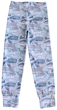 Bio Leggings LILI whale (Kids)