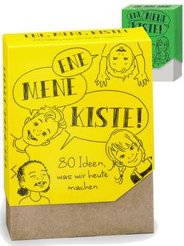 80 Karten mit Spiel- und Bastelideen ENE MENE KISTE