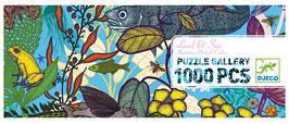 Riesen Puzzle Gallery - UNTER DEM MEER (Djeco) 1000 Teile