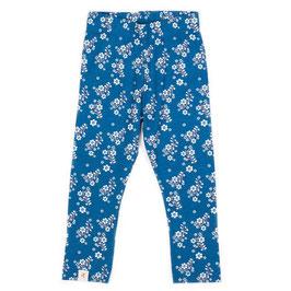 Leggings HANIELLA MYKONOS FLOWER GARDEN blue  (Alba of Denmark)