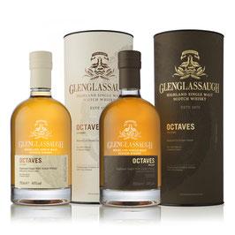 Glenglassaugh - Octaves Classic & Peated - Batch 2 - 44%