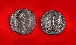 Sesterzio autentico  dell'imperatore Marco Aurelio 161 - 181 d.C.