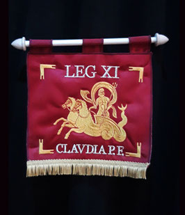 Stendardo LEG XI CLAVDIA P.F.