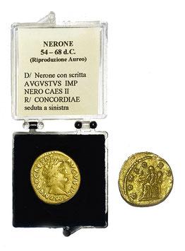 Riproduzione Aureo Nerone 54 - 68 d.C.