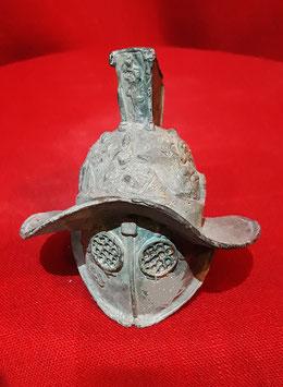 Minielmo Gladiatore Mirmillone con cresta