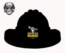 BLACK LOGO HAT TUFFGARD