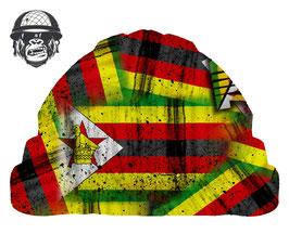 ZIMBABWE FLAG AIRBORNE - NEW DESIGN