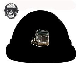 BLACK LOGO HAT AIRBORNE