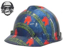 HYDROGRAPHIC LOGO HAT CAP STYLE - BRICKFILL (PUSH LOCK HARNESS)