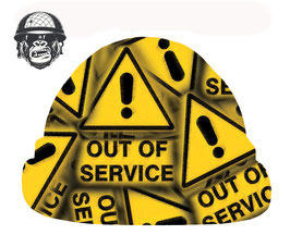 OUT OF SERVICE AIRBORNE - NEW