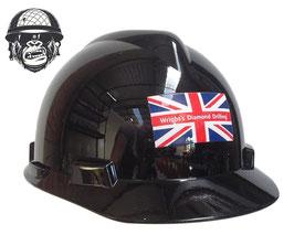 BLACK LOGO HAT CAP STYLE (PUSH LOCK HARNESS)