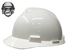 WHITE CAP MSA V-GARD ELITE WITH FAS-TRAC RATCHET HARNESS