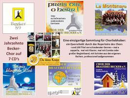 komplette CD-Sammlung (7 CDs)