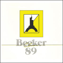 "CD ""Becker Chor '89"