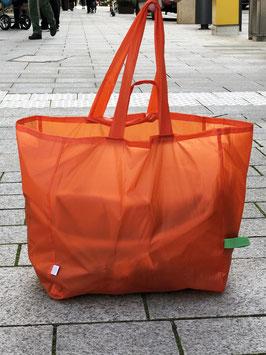 Einkaufstasche orange