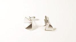 Boutons de manchette Origami (3 pans)
