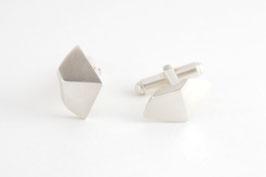 Boutons de manchette Origami (2 pans)