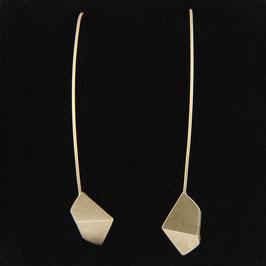 """Boucles d'oreilles """"Origami"""" Vermeil"""