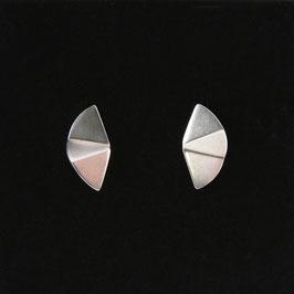 Boucles d'oreilles Origami 3 pans