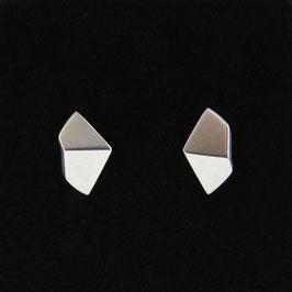 Boucles d'oreilles origami 2 pans