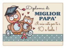 Diploma di Miglior Papà