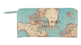 Portafoglio Mappa del Mondo