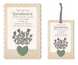 Siate dei buoni giardinieri
