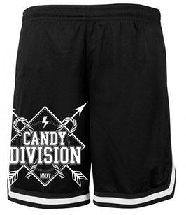 Candy Division- Logo Mesh Shorts