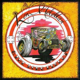 Ken McLellan & The Lone Riders- H8 Balls of Fire LP