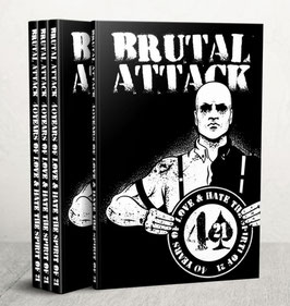 Brutal Attack - 40 years of love & hate - CD+DVD