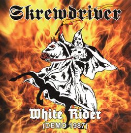 Skrewdriver- White Rider (Demo 1987) CD